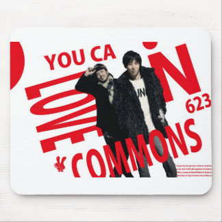 YOU CAN LOVECOMMONS mouse pad Type1