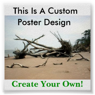 You Can Make Your Own Poster! Poster