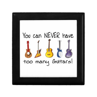 You can NEVER have too many guitars gifts Jewelry Box