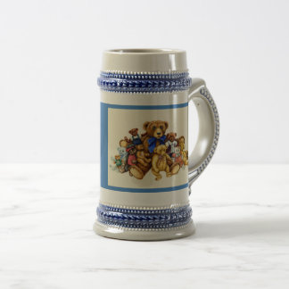 You Can Never Have Too Many Teddy Bears BEER STEIN