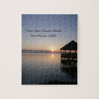 You can Never Have Too Much Outer Banks Jigsaw Puzzle