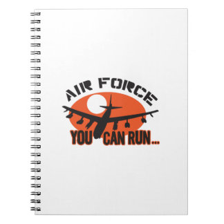 You Can Run Airforce Note Books