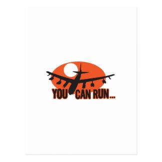 You Can Run Postcard