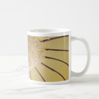 You can stand classic white coffee mug
