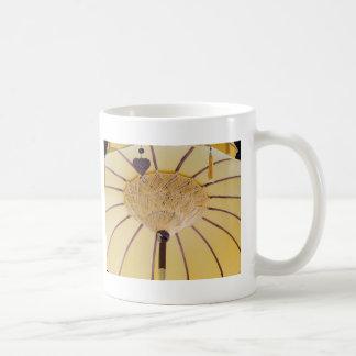 You can stand classic white coffee mug