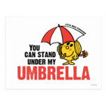 You Can Stand Under My Umbrella Postcard