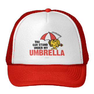You Can Stand Under My Umbrella Trucker Hat