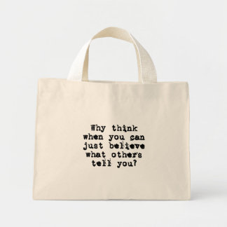 You can trust me (sq) bags