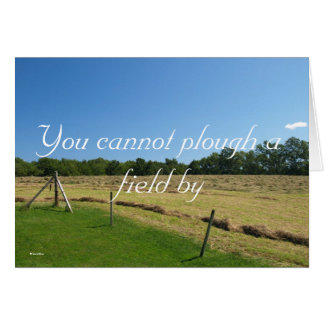 You cannot plou... card