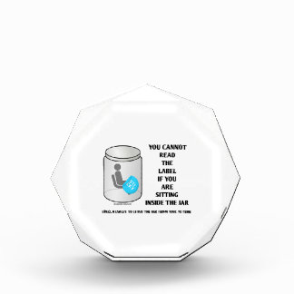 You Cannot Read The Label Sitting Inside Jar Humor Award