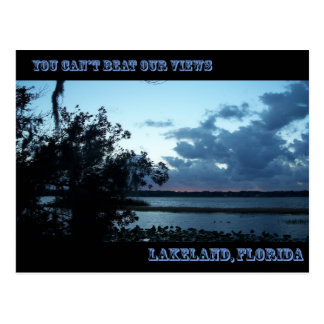 You Can't Beat Our Views Lakeland, FL   002 Postcard