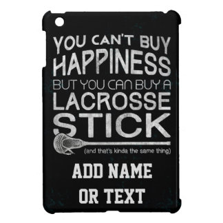 You Can't Buy Happiness Funny Lacrosse iPad Mini Cover