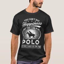 You Can't Buy Happiness - Funny Polo