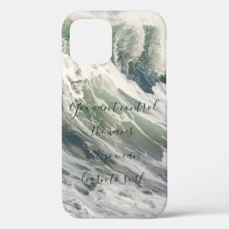 You Can't Control the Waves Cresting Ocean Wave Case-Mate iPhone Case
