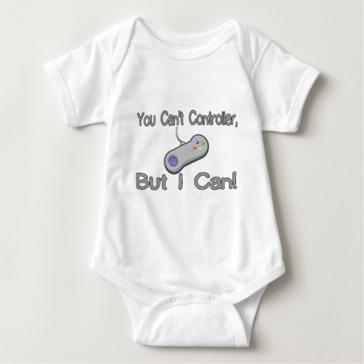 You Can't Controller Baby Bodysuit