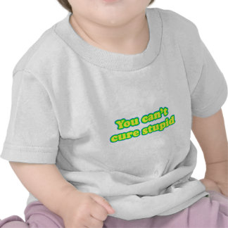 You cant cure stupid tee shirts