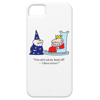 You can't cut my head off - I have tenure! iPhone SE/5/5s Case