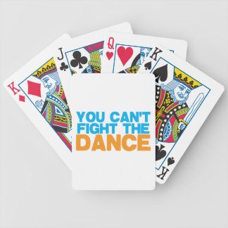 You can't FIGHT THE DANCE! Bicycle Playing Cards