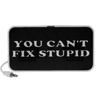 You Can't Fix Stupid iPod Speakers