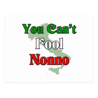 You Can't Fool Nonno Postcard