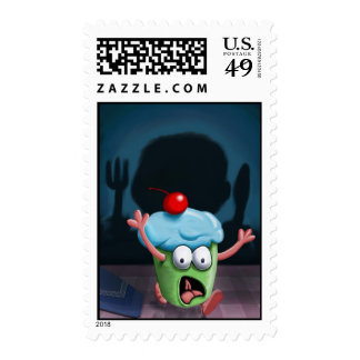 You Can't Hide From The Muffin Man Postage
