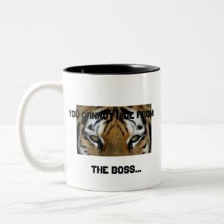 You Can't Hide... Two-Tone Coffee Mug