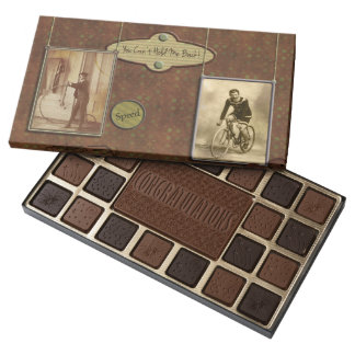 """You Can't Hold Me Back"" Chocolate Assortment 45 Piece Assorted Chocolate Box"