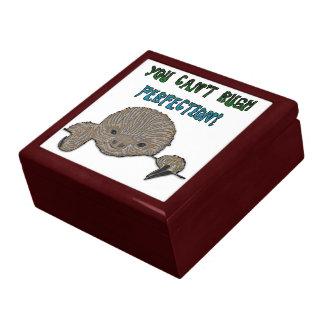 You Can't Rush Perfection Baby Sloth Keepsake Box