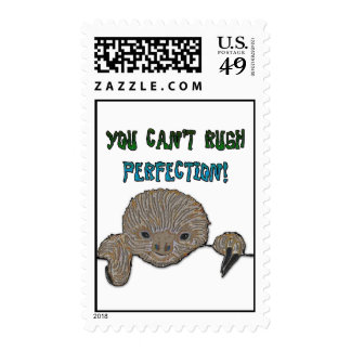 You Can't Rush Perfection Baby Sloth Stamps
