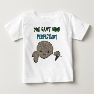 You Can't Rush Perfection Baby Sloth Tee Shirt