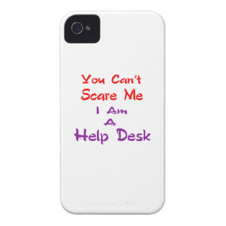 You can't scare me I am a Help Desk iPhone 4 Case-Mate Cases