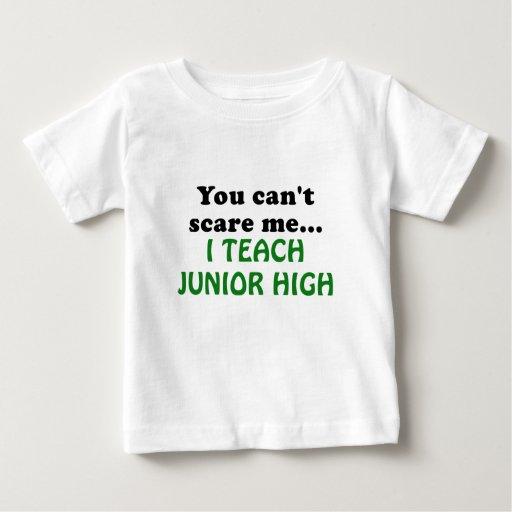 You can't Scare Me I Teach Junior High T-shirt T-Shirt, Hoodie, Sweatshirt