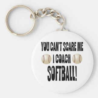You Can't Scare Me! Keychain