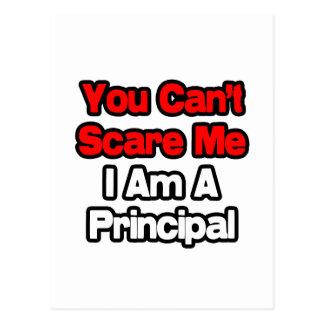 You Can't Scare Me...Principal Postcard