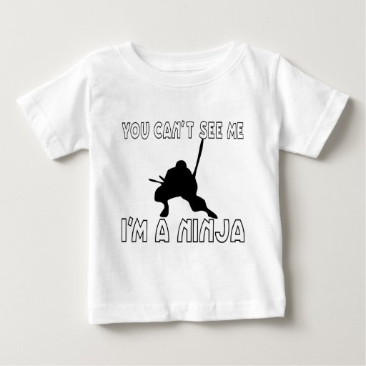 You Can't See Me Baby T-Shirt