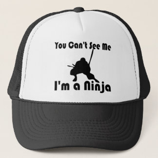 You Can't See Me funny Trucker Hat