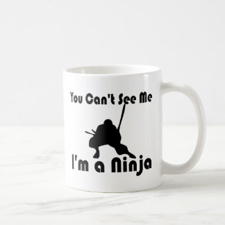 You Can't See Me Classic White Coffee Mug