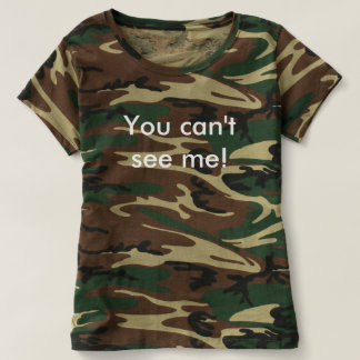 you cant see me t-shirt