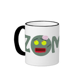 You can't Spell Zombie without a Zombie Ringer Coffee Mug