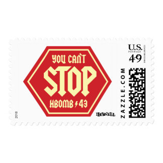 You Can't Stop… Postage Stamp