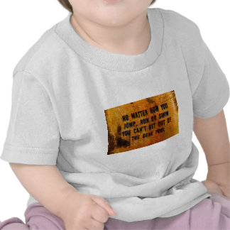 You Can't Swim Out Of The Gene Pool Funny Relative Shirt