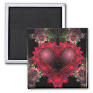 You Captured My Heart 2 Inch Square Magnet