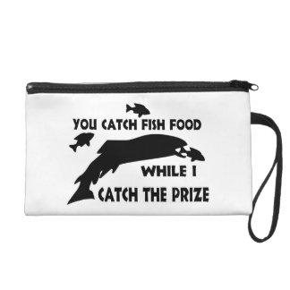 You Catch Fish Food Wristlet Purses