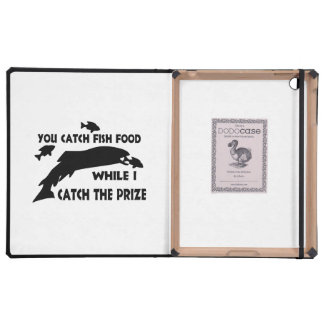 You Catch Fish Food iPad Cases