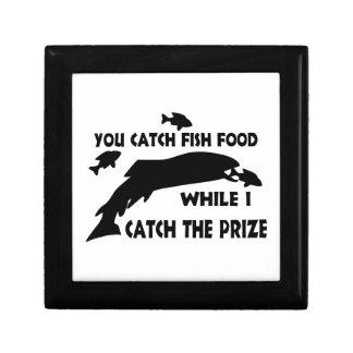 You Catch Fish Food Jewelry Box