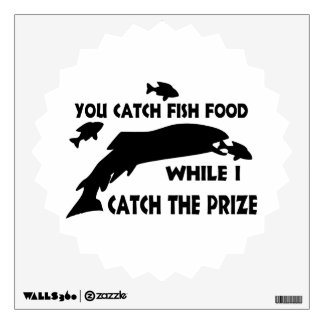 You Catch Fish Food Wall Sticker