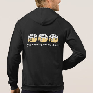 You Checking Out My Buns? Funny Cinnamon Roll Hoodie