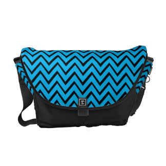 You Choose Color of Chevrons A06 Courier Bag