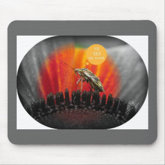 You color MY World! Mousepad