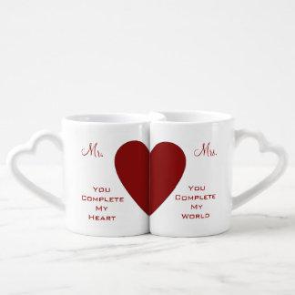 You Complete Me Couples Mug Set Couples' Coffee Mug Set